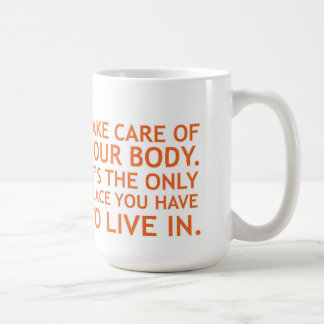 Take Care of Your Body Commuter Mug