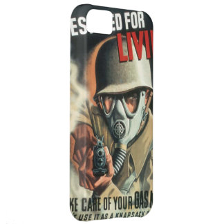 Take Care of Your Gas Mask iPhone 5C Case
