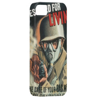 Take Care of Your Gas Mask iPhone SE/5/5s Case