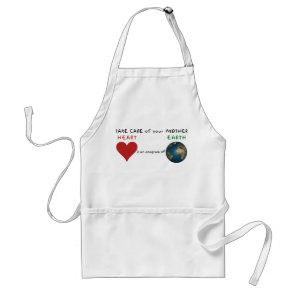 Take care of your mother adult apron