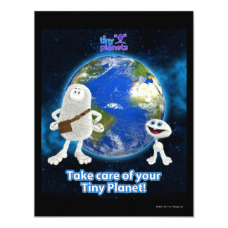 Take Care of Your Tiny Planet Card