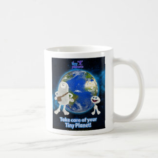Take Care of Your Tiny Planet Classic White Coffee Mug