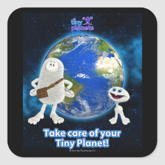 Take Care of Your Tiny Planet Stickers