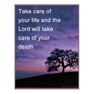 Take Care Postcard