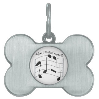 Take Careful Notes! Pet ID Tags