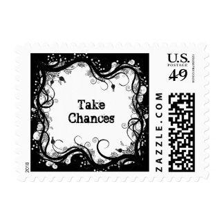 Take Chances Inspirational Stamp