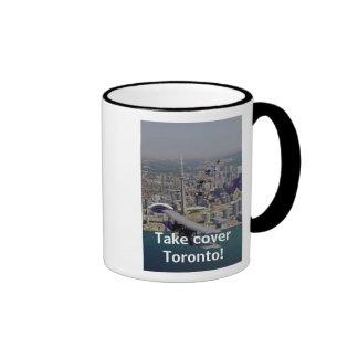 Take cover Toronto! Mug