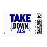 Take Down ALS 1 Postage