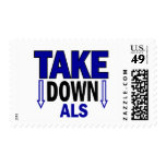 Take Down ALS 1 Stamp