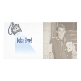Take Five! Card