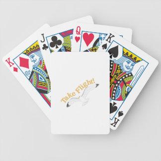 Take Flight Bicycle Playing Cards