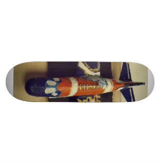 Take  Flight bronco  airplane Skateboard