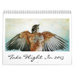 Take Flight in the New Year Calendar