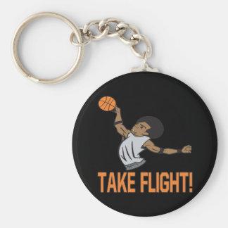 Take Flight Basic Round Button Keychain