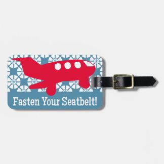 Take Flight, Kiddo! Tag For Luggage