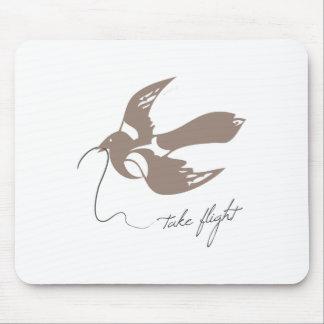 Take Flight Mouse Pads