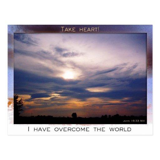 Take Heart postcard