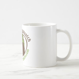Take home a Traveling Sasquatch! Coffee Mug
