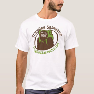 Take home a Traveling Sasquatch! T-Shirt