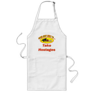 Take Hostages Long Apron
