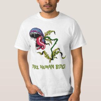 TAKE HUMAN BITES!: CARNIVOROUS PLANT T-Shirt