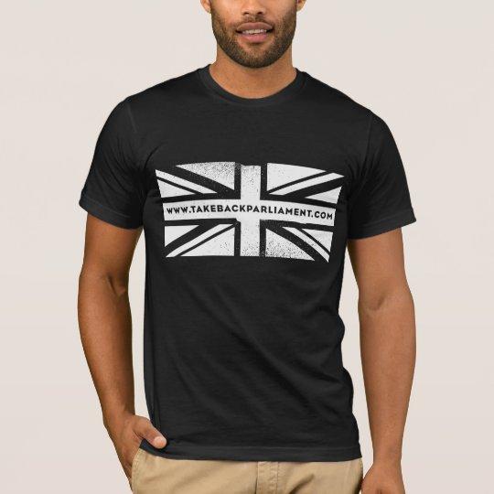 Take it Back flag, men's black t-shirt