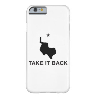 Take It Back Republic of Texas iPhone Cases