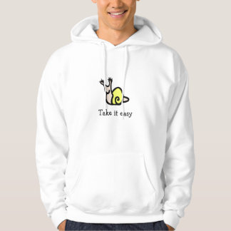 take it easy Charlotte the snail Hoodie