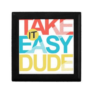 take it easy dude jewelry box