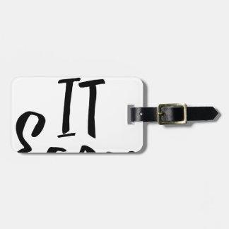 take-it-easy luggage tag