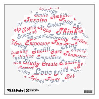 Take It To Heart Motivational Words Wall Sticker