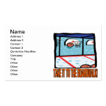 Take It To The Boardwalk Double-Sided Standard Business Cards (Pack Of 100)