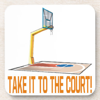 Take It To The Court Beverage Coaster
