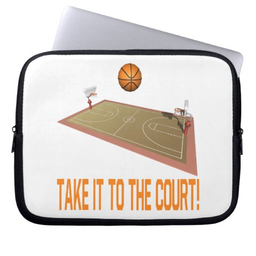 Take It To The Court Computer Sleeve