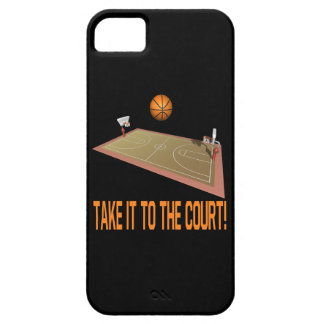 Take It To The Court iPhone SE/5/5s Case