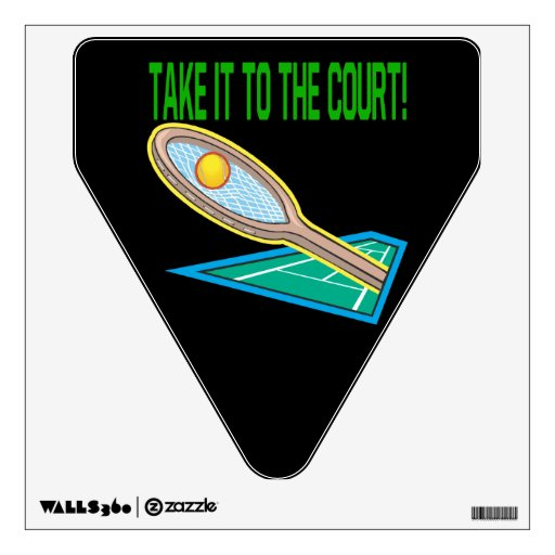 Take It To The Court.png Room Decals