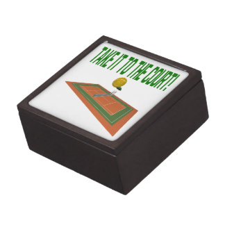 Take It To The Court Premium Jewelry Boxes