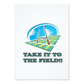 Take It To The Field Card
