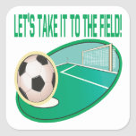Take It To The Field Stickers