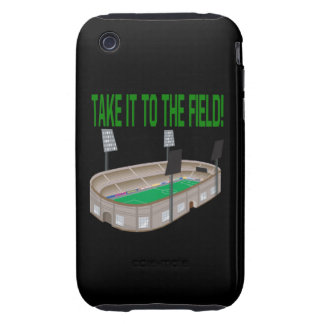 Take It To The Field Tough iPhone 3 Cover