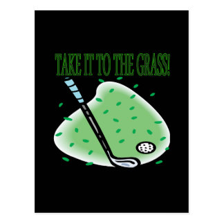 Take It To The Grass Postcard