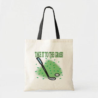 Take It To The Grass Tote Bag