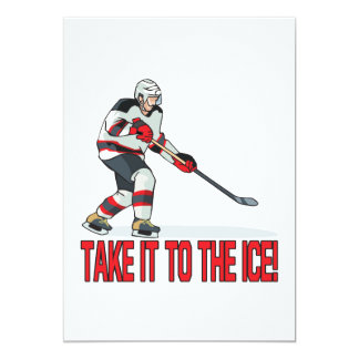 Take It To The Ice Card