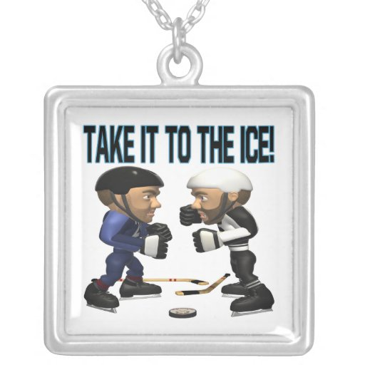 Take It To The Ice Custom Jewelry