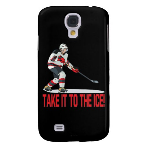 Take It To The Ice Galaxy S4 Cover