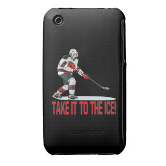 Take It To The Ice iPhone 3 Case-Mate Case