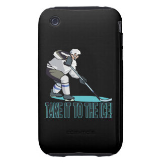 Take It To The Ice iPhone 3 Tough Cases