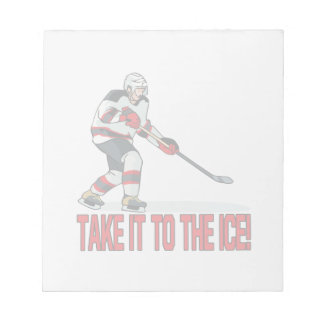 Take It To The Ice Memo Notepads