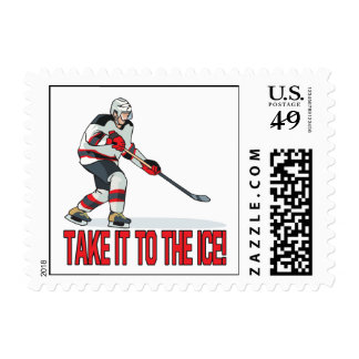 Take It To The Ice Postage
