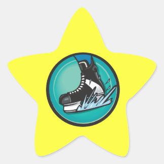Take It To The Ice Star Sticker